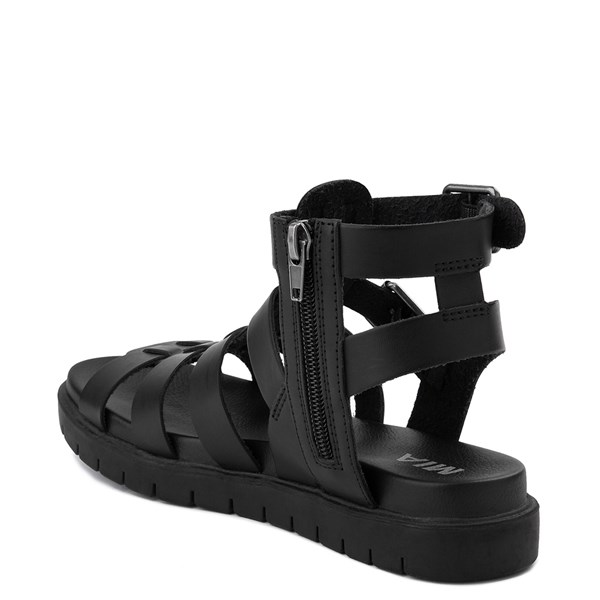 alternate view Womens MIA Carlynn Gladiator Sandal - BlackALT2