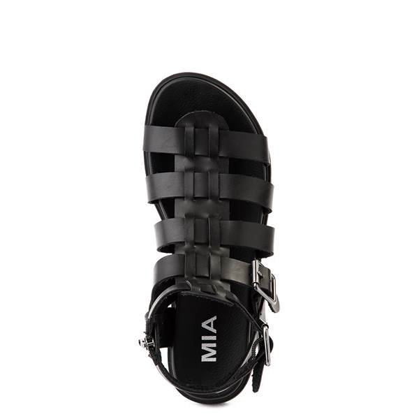 alternate view Womens MIA Carlynn Gladiator Sandal - BlackALT4B