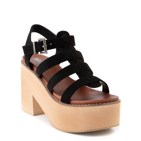 alternate view Womens MIA Loraine Platform Sandal - BlackALT1