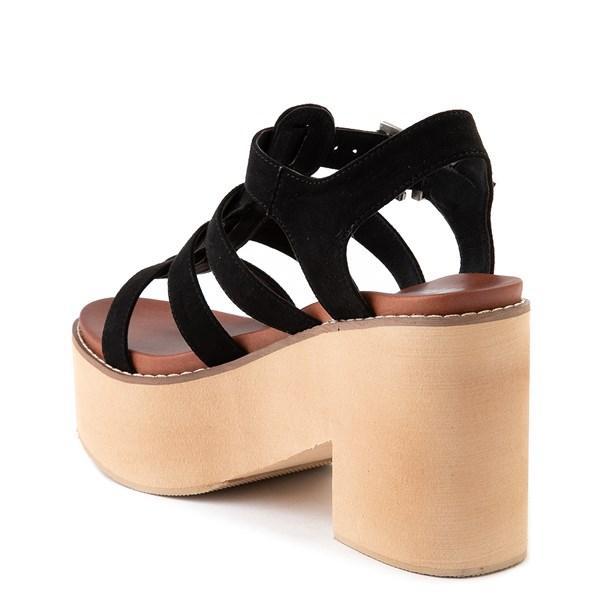 alternate view Womens MIA Loraine Platform Sandal - BlackALT2