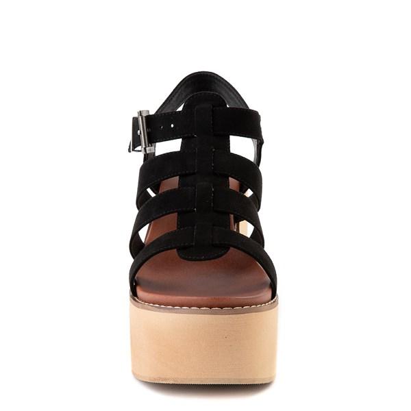 alternate view Womens MIA Loraine Platform Sandal - BlackALT4