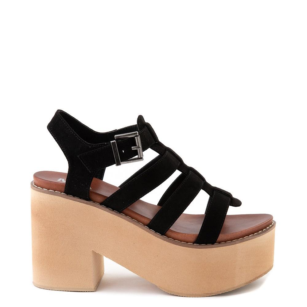 Womens MIA Loraine Platform Sandal - Black