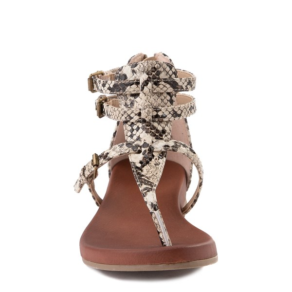 alternate view Womens MIA Raelynn Sandal - SnakeALT4