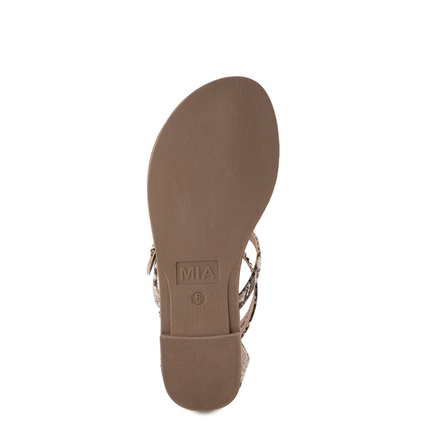 alternate view Womens MIA Raelynn Sandal - SnakeALT5