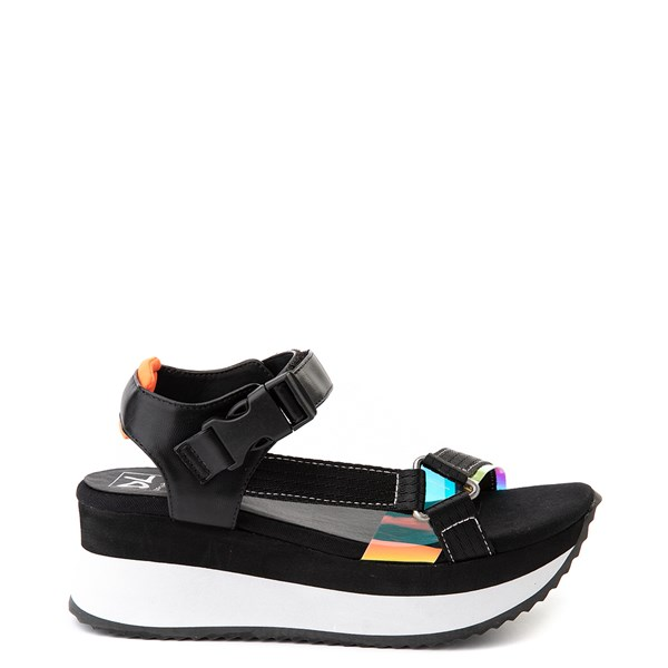 Womens Dirty Laundry Greats Platform Sandal - Black