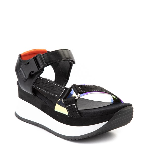 alternate view Womens Dirty Laundry Greats Platform Sandal - BlackALT1