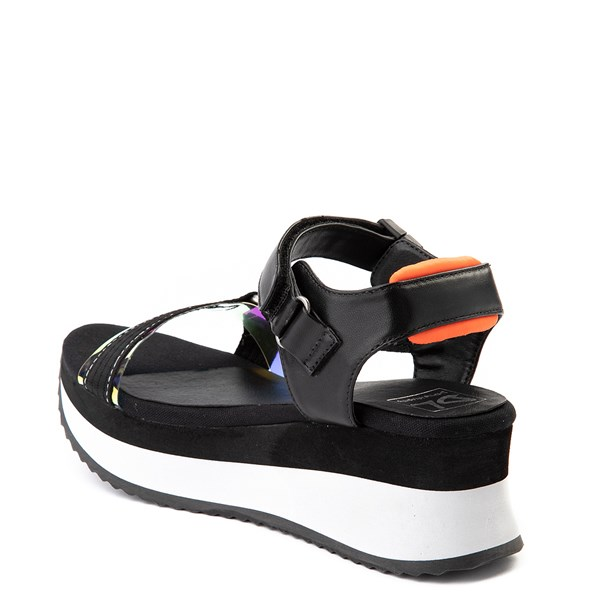 alternate view Womens Dirty Laundry Greats Platform Sandal - BlackALT2
