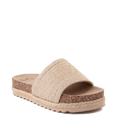 Alternate view of Womens Dirty Laundry Dayton Platform Slide Sandal - Natural
