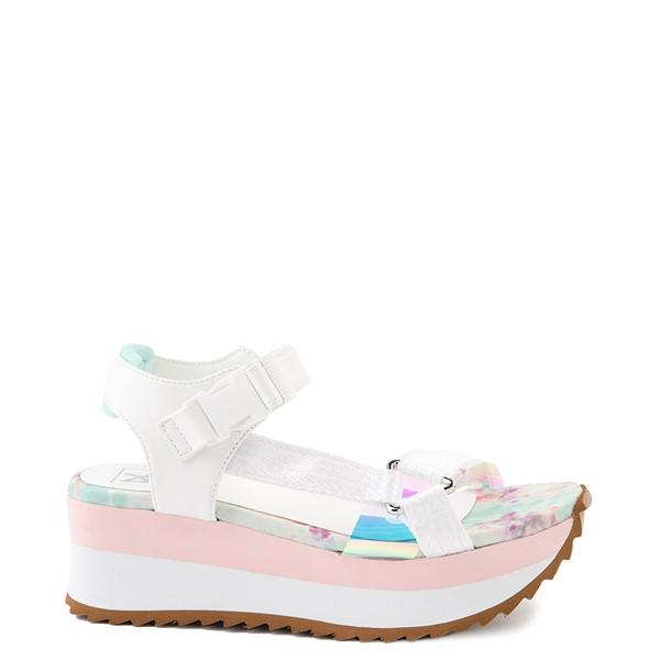 Womens Dirty Laundry Greats Platform Sandal - White