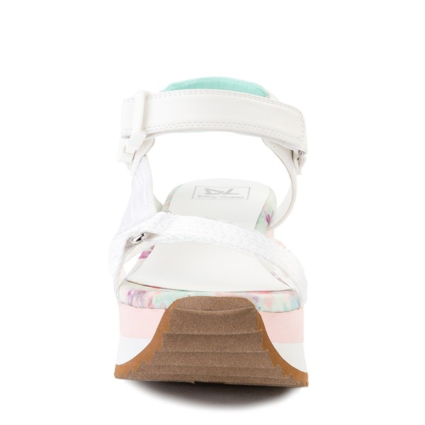 alternate view Womens Dirty Laundry Greats Platform Sandal - WhiteALT4