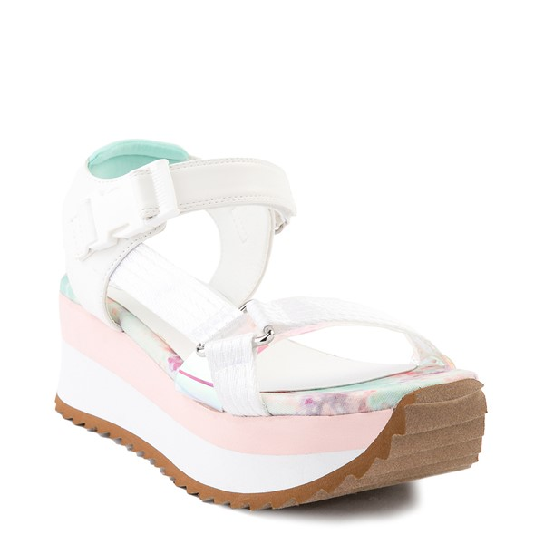 alternate view Womens Dirty Laundry Greats Platform Sandal - WhiteALT5