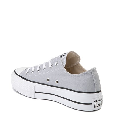 Alternate view of Womens Converse Chuck Taylor All Star Lo Platform Sneaker - Wolf Gray
