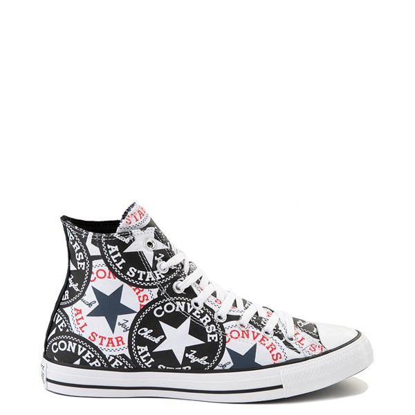 Converse Chuck Taylor All Star Hi Twisted Patches Sneaker - Black / White