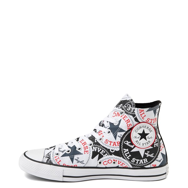 alternate view Converse Chuck Taylor All Star Hi Twisted Patches Sneaker - Black / WhiteALT1