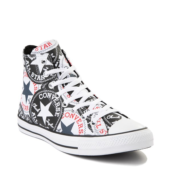 alternate view Converse Chuck Taylor All Star Hi Twisted Patches Sneaker - Black / WhiteALT1B