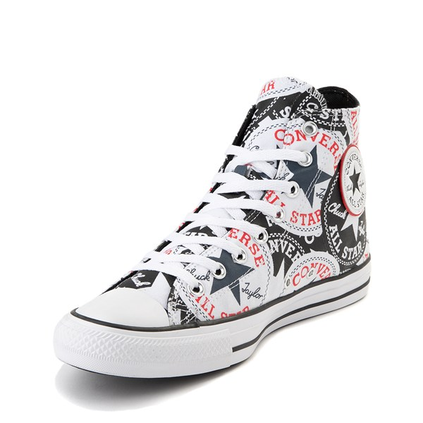 alternate view Converse Chuck Taylor All Star Hi Twisted Patches Sneaker - Black / WhiteALT3