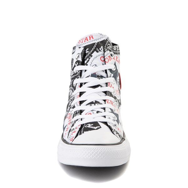 alternate view Converse Chuck Taylor All Star Hi Twisted Patches Sneaker - Black / WhiteALT4