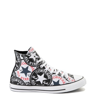 Main view of Converse Chuck Taylor All Star Hi Twisted Patches Sneaker - Black / White