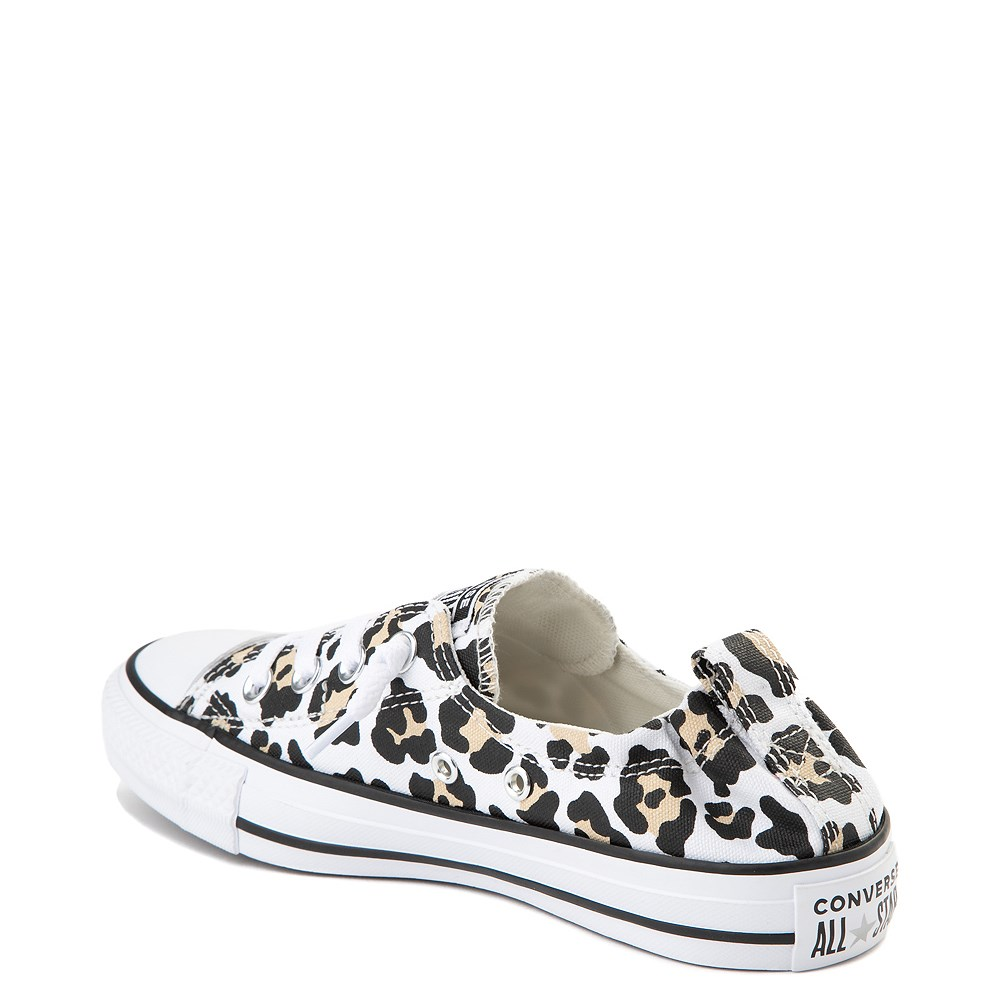 cheetah converse shoes