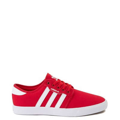 Main view of Mens adidas Seeley Skate Shoe - Scarlet