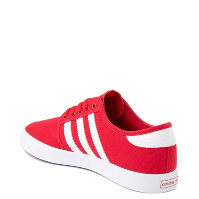Alternate view of Mens adidas Seeley Skate Shoe - Scarlet