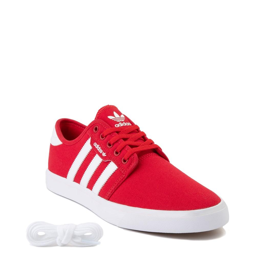 Mens adidas Seeley Skate Shoe - Scarlet