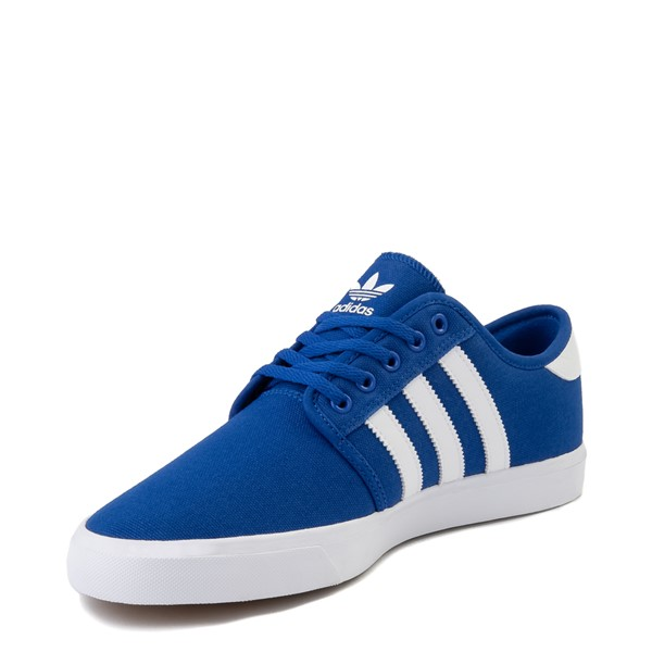 alternate view Mens adidas Seeley Skate Shoe - Royal BlueALT2