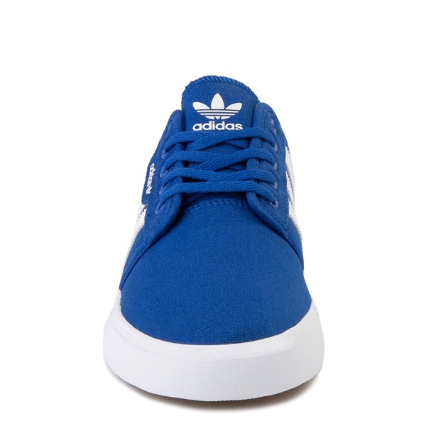 alternate view Mens adidas Seeley Skate Shoe - Royal BlueALT4