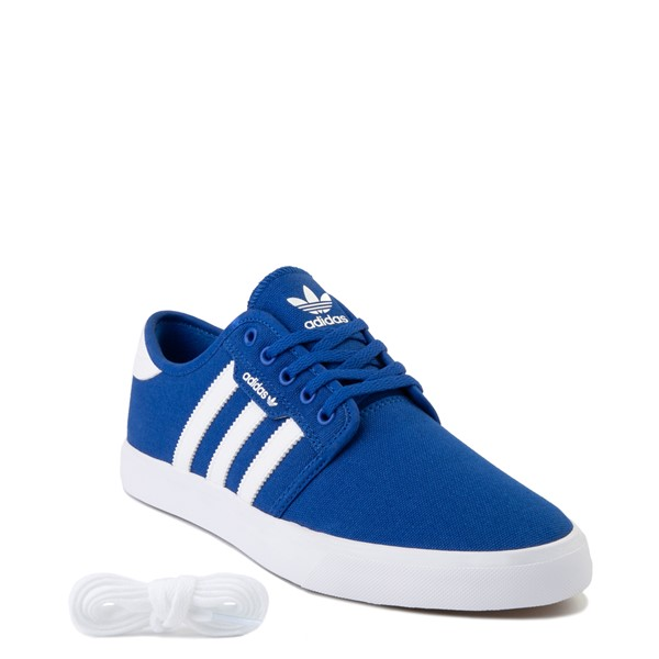 alternate view Mens adidas Seeley Skate Shoe - Royal BlueALT5