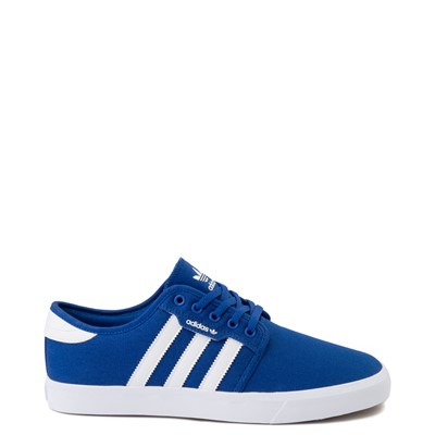 Main view of Mens adidas Seeley Skate Shoe - Blue