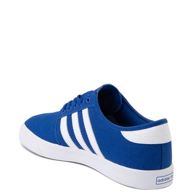 Alternate view of Mens adidas Seeley Skate Shoe - Blue