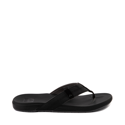 Main view of Mens Reef Cushion Bounce Phantom Sandal - Black