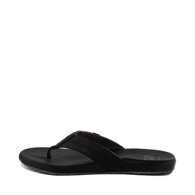 Alternate view of Mens Reef Cushion Bounce Phantom Sandal - Black