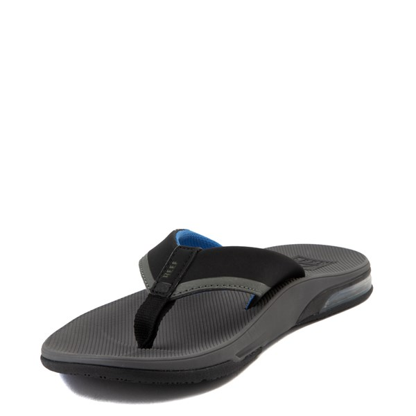 alternate view Mens Reef Fanning Sandal - Gray / BlueALT3