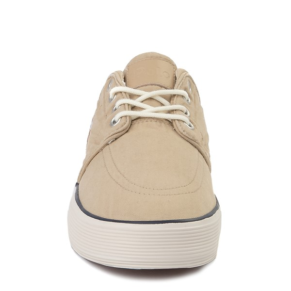 alternate view Mens Faxon Casual Shoe by Polo Ralph Lauren - KhakiALT4