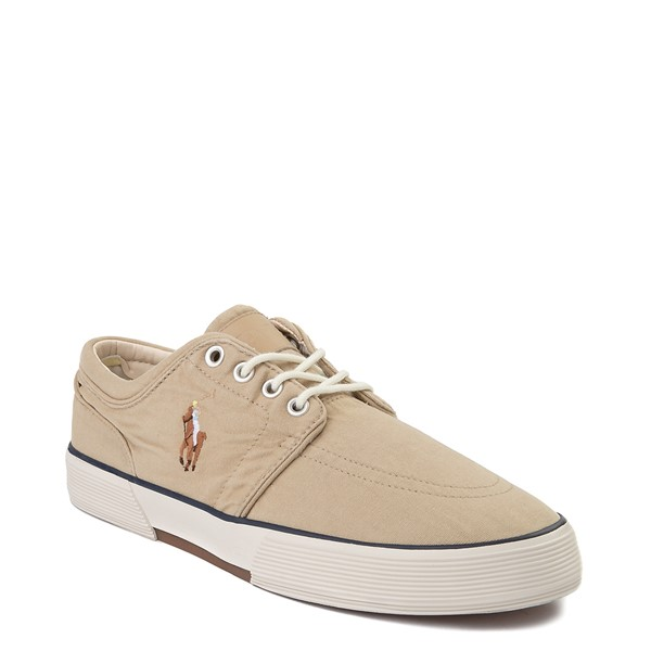 alternate view Mens Faxon Casual Shoe by Polo Ralph Lauren - KhakiALT5