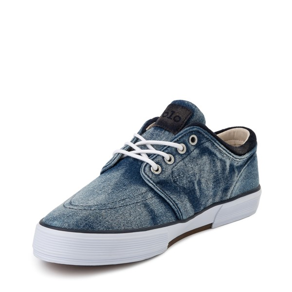 alternate view Mens Faxon Casual Shoe by Polo Ralph Lauren - DenimALT2