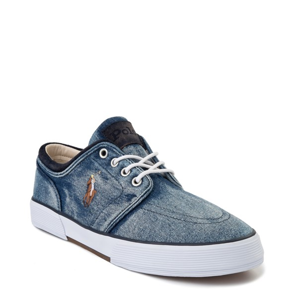 alternate view Mens Faxon Casual Shoe by Polo Ralph Lauren - DenimALT5