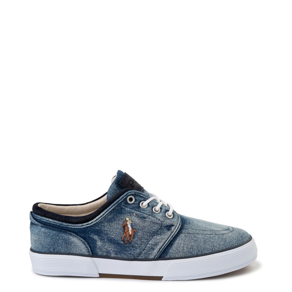 Mens Faxon Casual Shoe by Polo Ralph Lauren - Denim