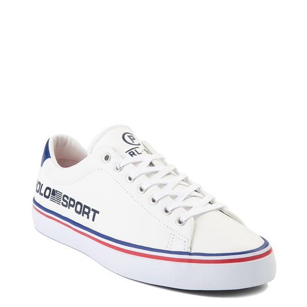 alternate view Mens Longwood Casual Shoe by Polo Ralph Lauren - WhiteALT1