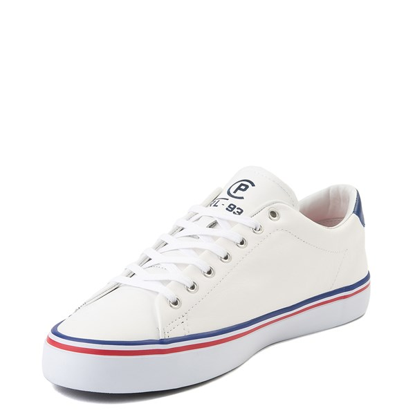 alternate view Mens Longwood Casual Shoe by Polo Ralph Lauren - WhiteALT3