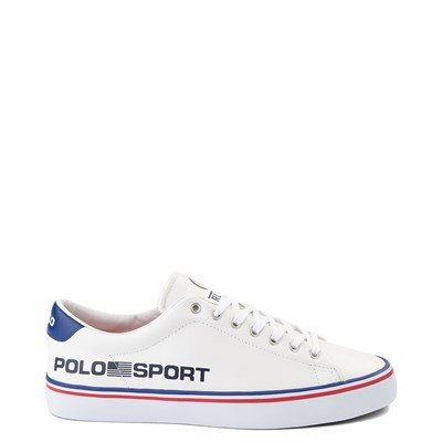 Main view of Mens Longwood Casual Shoe by Polo Ralph Lauren - White