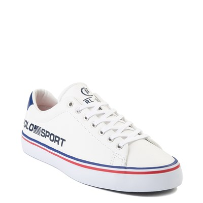 Alternate view of Mens Longwood Casual Shoe by Polo Ralph Lauren - White