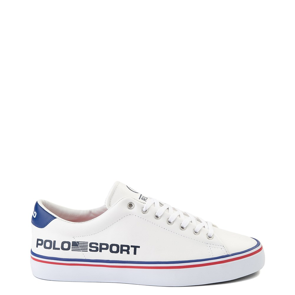 Mens Longwood Casual Shoe by Polo Ralph Lauren - White