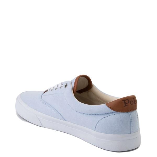 alternate view Mens Thorton Casual Shoe by Polo Ralph Lauren - Sky BlueALT2