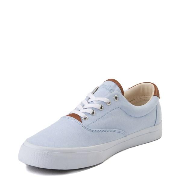 alternate view Mens Thorton Casual Shoe by Polo Ralph Lauren - Sky BlueALT3