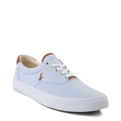 Alternate view of Mens Thorton Casual Shoe by Polo Ralph Lauren - Sky Blue