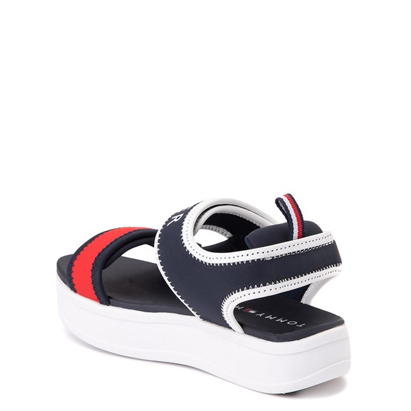 alternate view Tommy Hilfiger Leomi Platform Sandal - Little Kid / Big Kid - Navy / Red / WhiteALT2