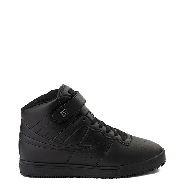 Mens Fila Vulc 13 SR Hi Work Shoe - Black
