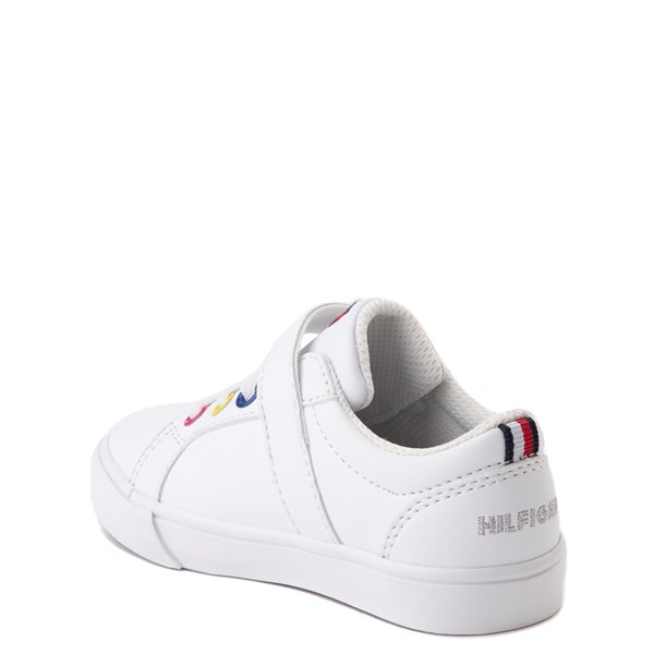 alternate view Tommy Hilfiger Arrin Casual Shoe - Baby / Toddler - White / MultiALT1